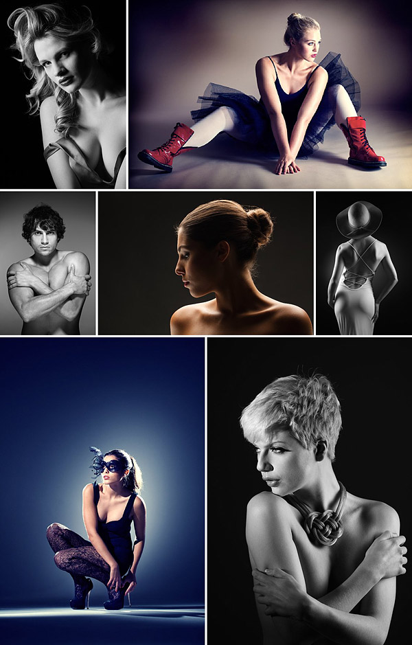 Lighting Studio Portraits Training Video by Damien Lovegrove