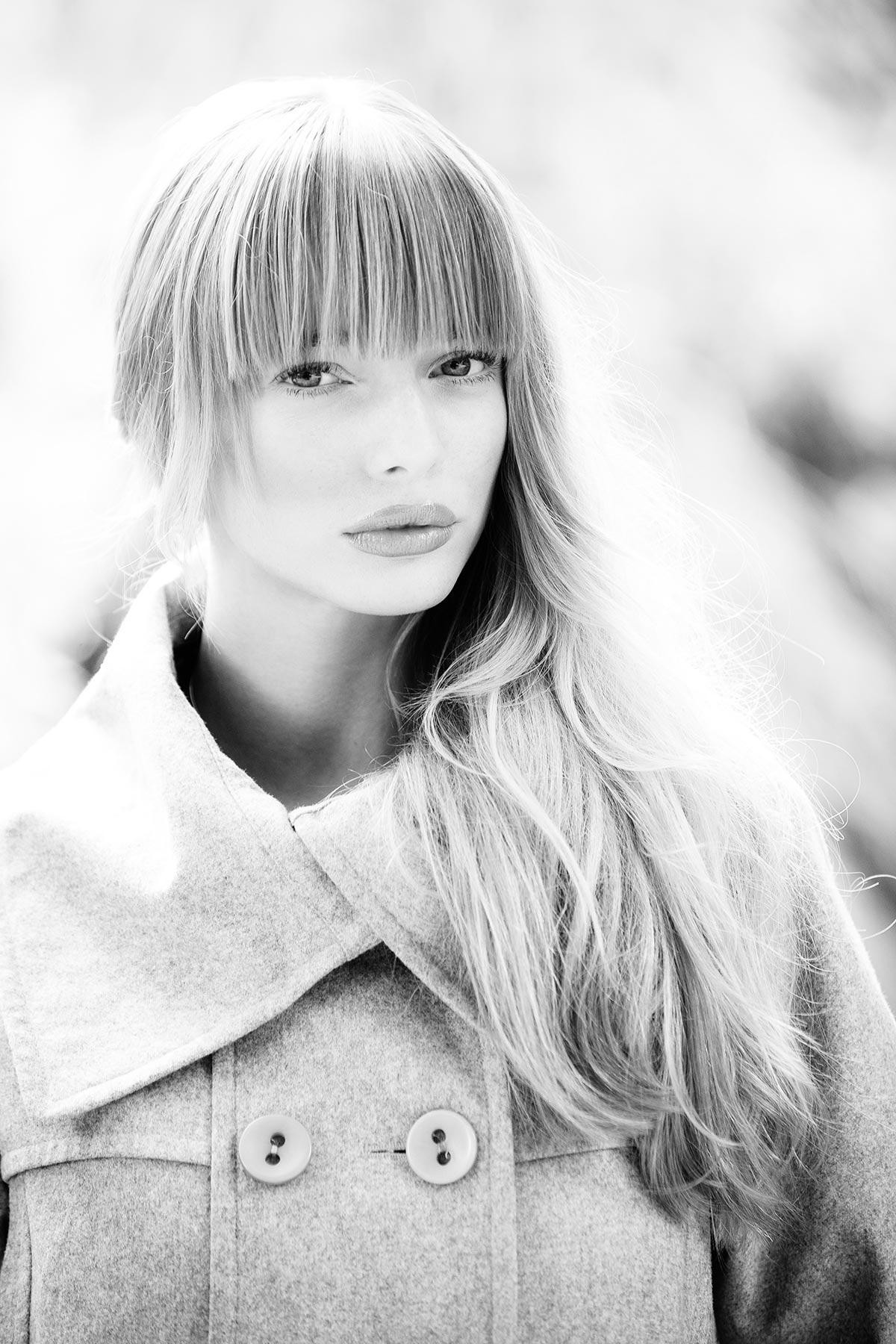 Lora Brisland fashion shot.