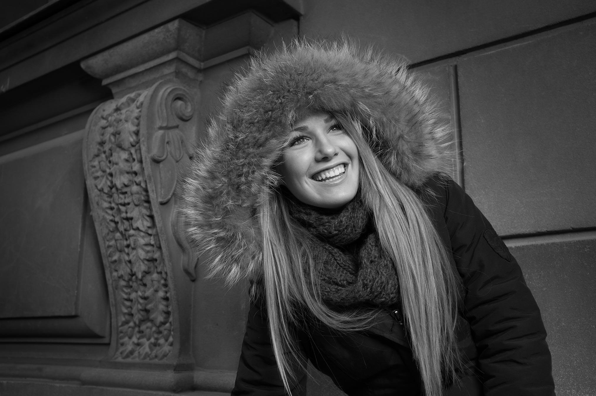 Julia in Munich by Damien Lovegrove