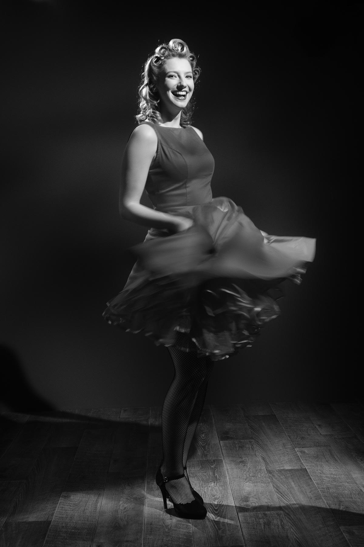 Claire Rammelkamp in the Lovegrove studio